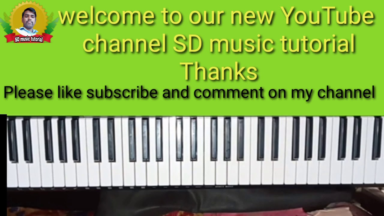 Welcome To Our New Youtube Channel Sd Music Tutorial Youtube