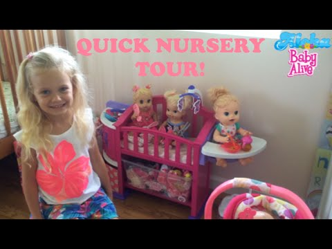 Quick Baby Alive Doll Nursery Tour With Skye😊🍼💖 Youtube