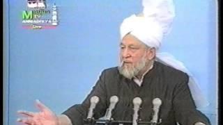 Urdu Khutba Juma on October 1, 1993 by Hazrat Mirza Tahir Ahmad