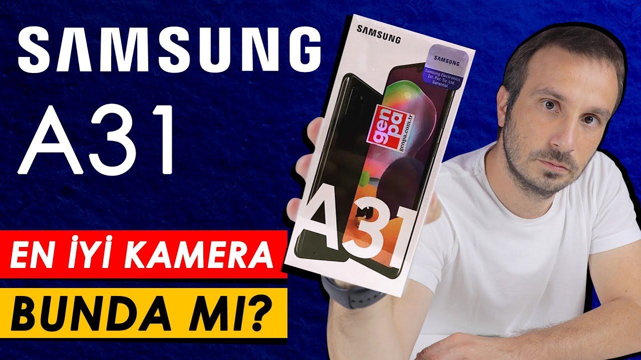 Samsung Galaxy A31 İnceleme | En İyi Kamera İddiası | Fiyat/Performans Testi
