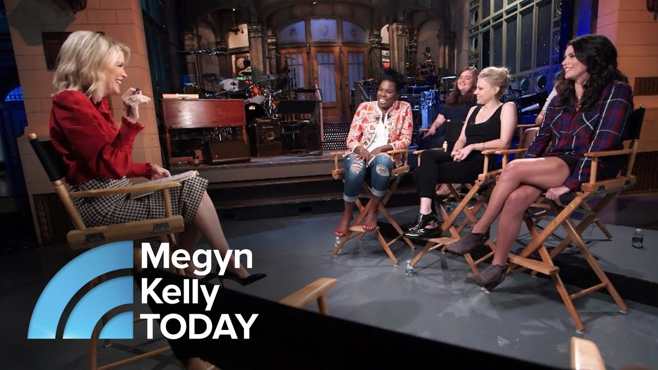 Las Of Saay Night Live Talk About The Show S New Season Megyn Kelly Today