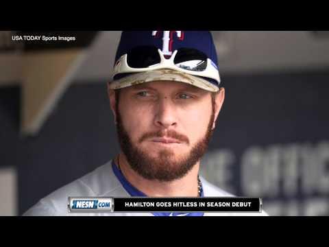 No Luck For Josh Hamilton In Season Debut With Texas Rangers