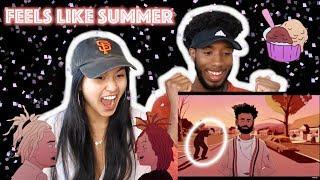 CHILDISH GAMBINO - FEELS LIKE SUMMER | MUSIC VIDEO REACTION