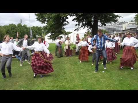 summer festival solstice Ligo Riga Latvia 2012