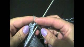 ★★★ Уроки вязания спицами.| Как вязать носок. Часть 2. ★★★