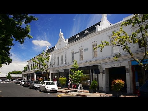 Stellenbosch  - The Capital of Cape Winelands in South Africa