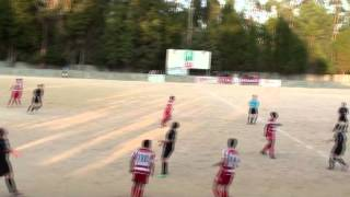 """Agressões no jogo futebol entre o GD """"Os Vidreiros"""" e União da Serra (Distritais de Leiria)"""