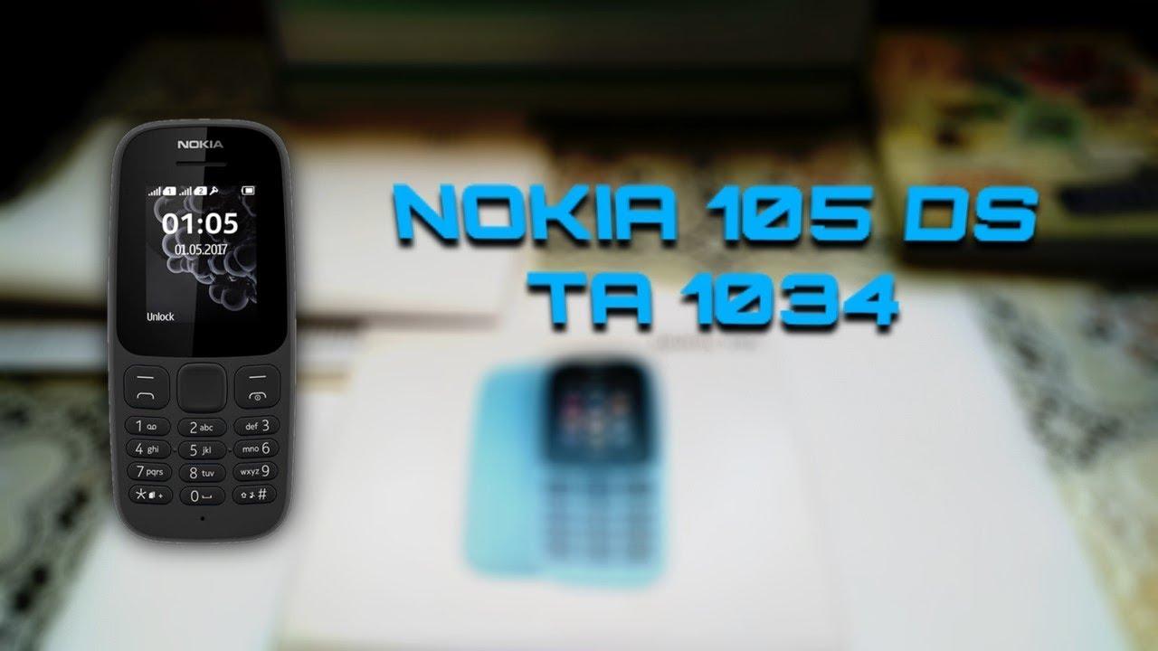 0bcd8ab5524ee Розпакування Nokia 105 DS TA-1034 з Rozetka.com.ua - YouTube