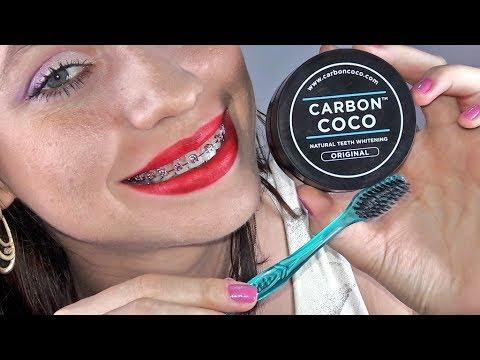 Carvao Ativado Para Clarear Os Dentes Beneficios Carbon Coco Teeth