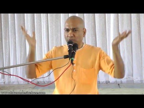 HG Shikshashtakam Prabhu addressing the Youths at ISKCON Nasik on 10th April 2016
