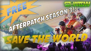 *SEASON 3* How To Get Save The World For Free Glitch! - Fortnite: Battle Royale