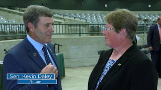 Sen. Daley interviews 6th generation farmer
