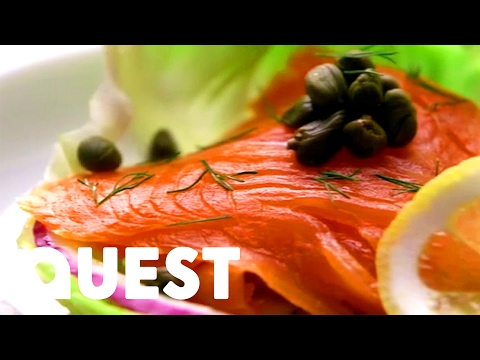 How Smoked Salmon is Made | Food Factory