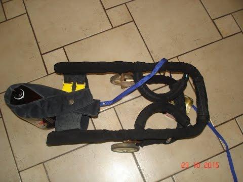 Домашние хлопоты.Инвалидная колясочка для собаки( своими руками).