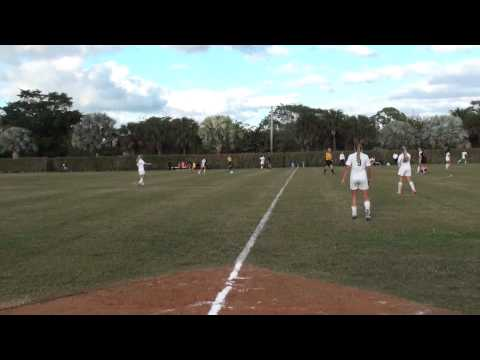 Boca Christian Girls Soccer vs Juptier Christian 2014 Regional Quanterfinals