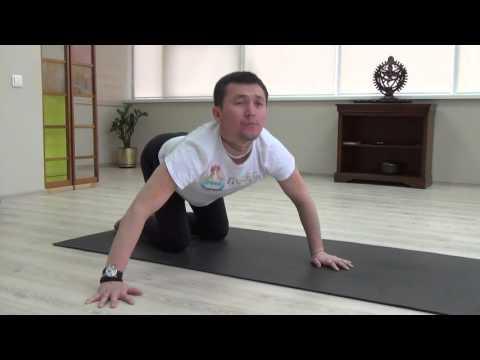 Комплекс при боли в пояснице вместе с Назаровым Даулетом, йога центр Гаятри, Алматы, Казахстан