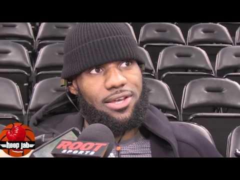 LeBron James Interview On He'll Help Kyle Korver Fit In. HoopJab NBA