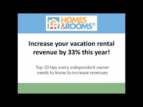 Increase your vacation rental revenue by 33% this year!