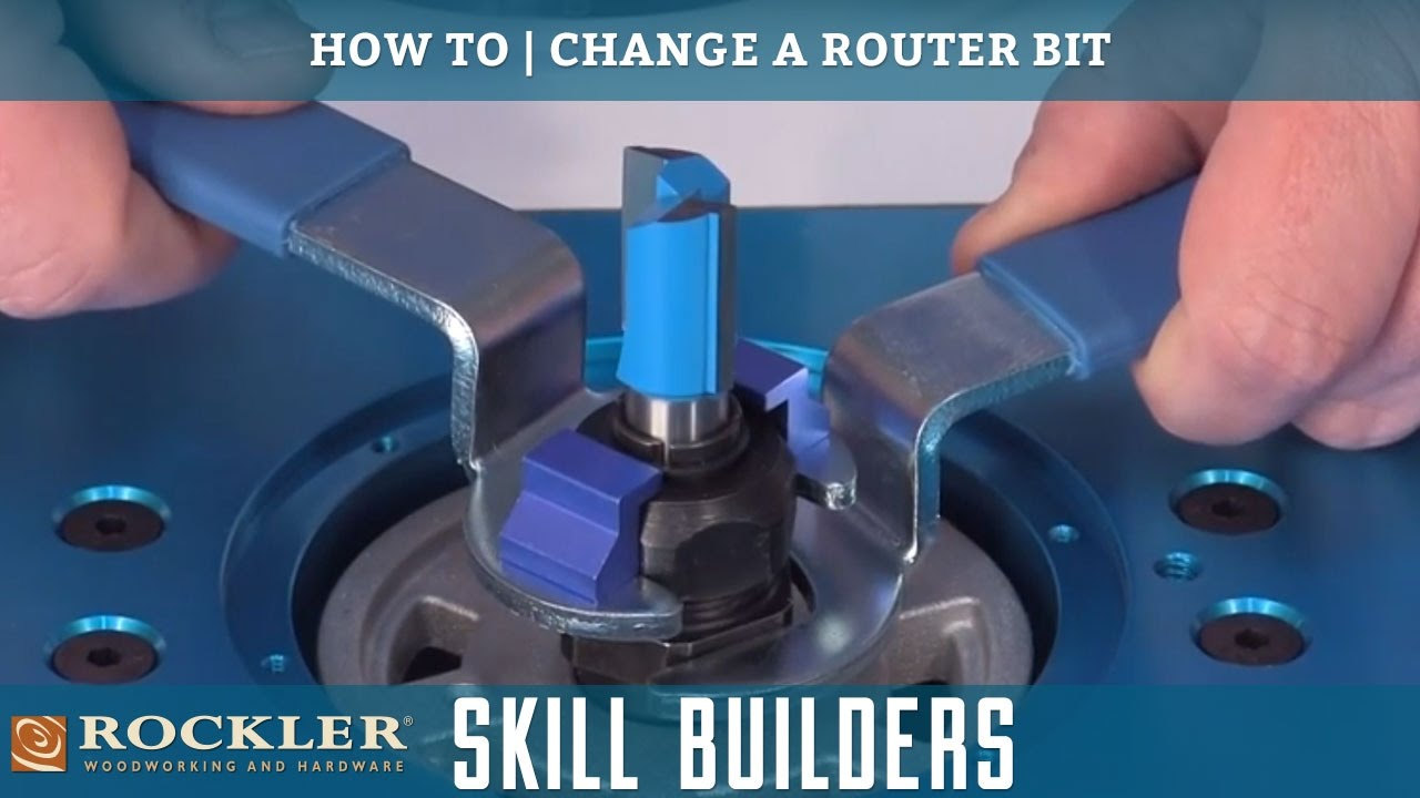 How To Change A Router Bit Rockler Skill Builders