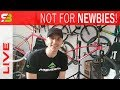 LIVE - How To Spot A Bad Beginner Bike. Road And Mountain Bike Examples...