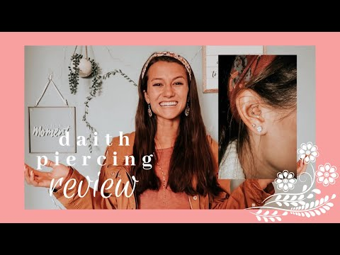 daith piercing review! (price, pain, & does it help with migraines?)
