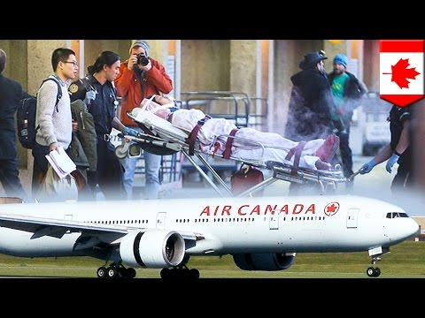 Flight from hell: At least 20 Air Canada passengers injured on flight by heavy turbulence - TomoNews