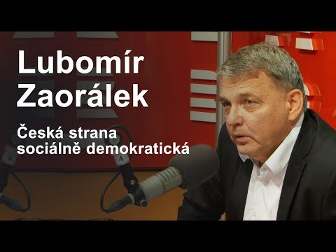 Lubomír Zaorálek (ČSSD) | Parlamentní volby 2017