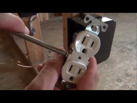 How to Install an Electrical Outlet