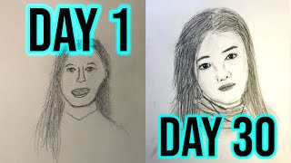 Learn to Draw Portraits in 30 Days | Hobbyist Challenge