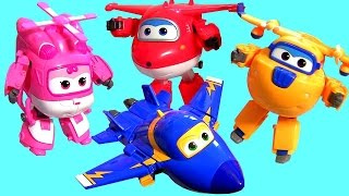 Super Wings Transforming Planes Toys