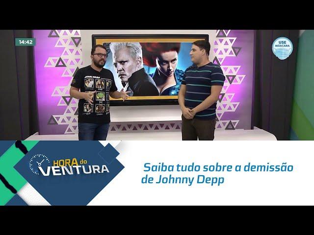 Hora do Cinema: Saiba tudo sobre a demissão de Johnny Depp de Animais Fantásticos