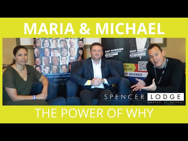 Maria Conceicao & Michael Lane  - The True Power Of Finding Your WHY