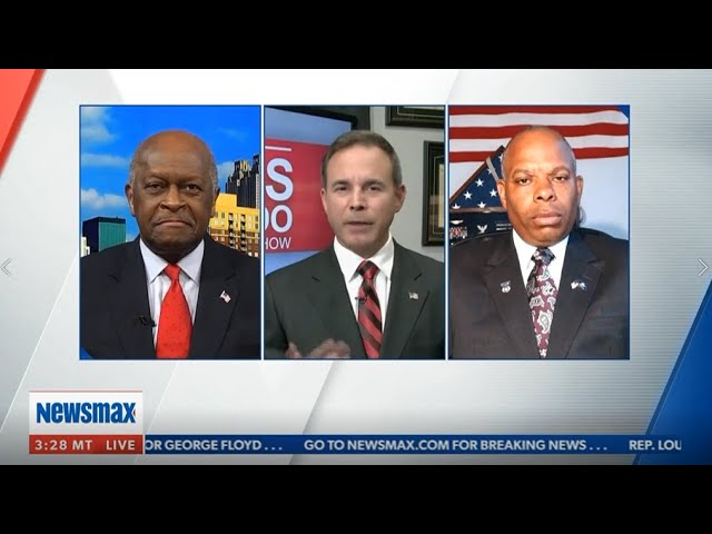 Jarome Joins NewsMax's Chris Salcedo