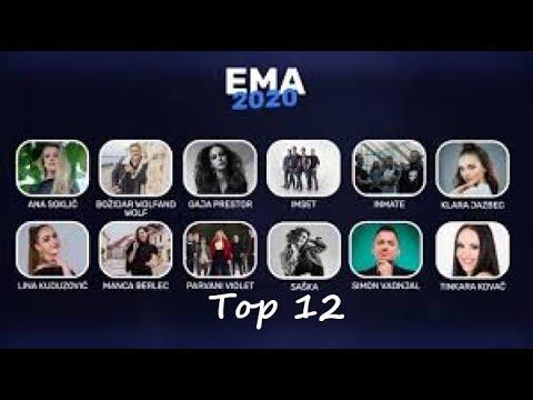 Download Eurovision 2020 ♡ EMA Slovenia : Top 12