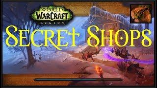 [Part 1] Secret Shops for Gold Making