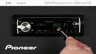 How To - DEH-X5800HD - MP3 Playback from USB and CD