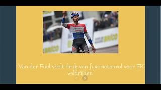 Wielrennen: Van der Poel voelt druk van favorietenrol voor EK veldrijden