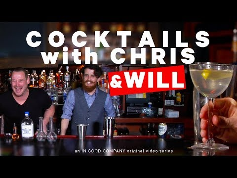 Cocktails with Chris and Will - The Martini