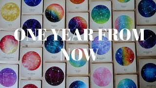 One Year From Now! Where will you be in a year? / Messages from Spirit PICK A CARD Tarot (Timeless)
