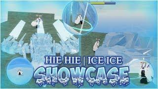 Hie Hie - ICE SHOWCASE | Roblox | Ro-Piece UPDATE