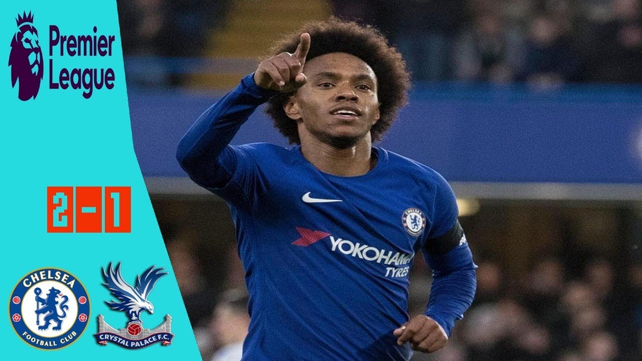 Download Chelsea vs Crystal Palace 2-1 All Goals & Extended Highlights EPL 10 03 2018 HD