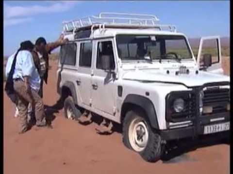 STUCK IN THE SAHARA DESERT MOROCCO