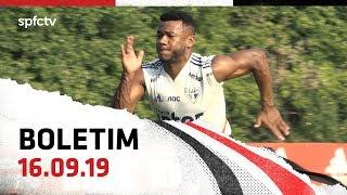 BOLETIM DE TREINO: 16.09   SPFCTV