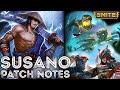 SMITE 3.8 Patch Notes Perfect Storm - Susanoo (Review)