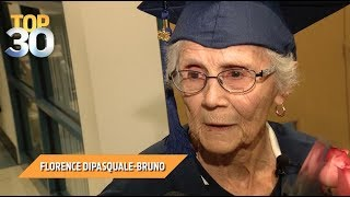 96 Year-Old Woman Gets Her High School Diploma!
