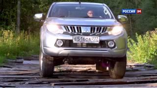 видео Тест-драйв обновленного пикапа Mitsubishi L200