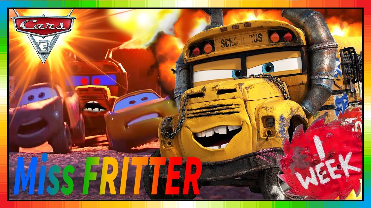 cars 3 movie cars full movie english miss fritter. Black Bedroom Furniture Sets. Home Design Ideas