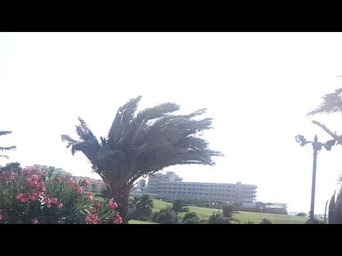 Tenerife - Amarilla Golf - (Saturday) Calima hits!
