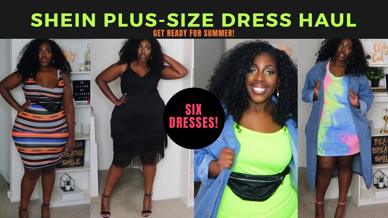 b11b829d7e 2019 Spring/Summer SheIn Plus Size Dress Try-On Haul - YouTube
