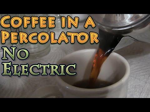 How to Prepare Stovetop Percolator Coffee